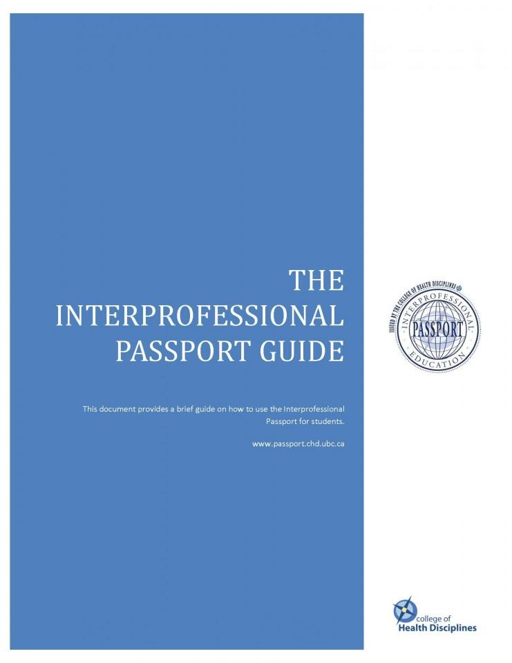 The Interprofessional Passport Guide